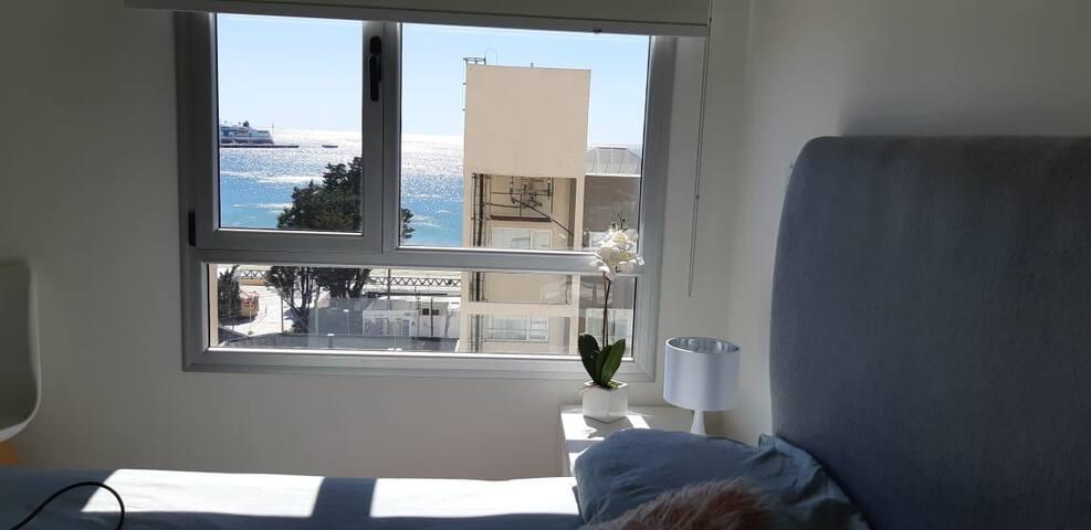 Coqueto departamento con vista al mar