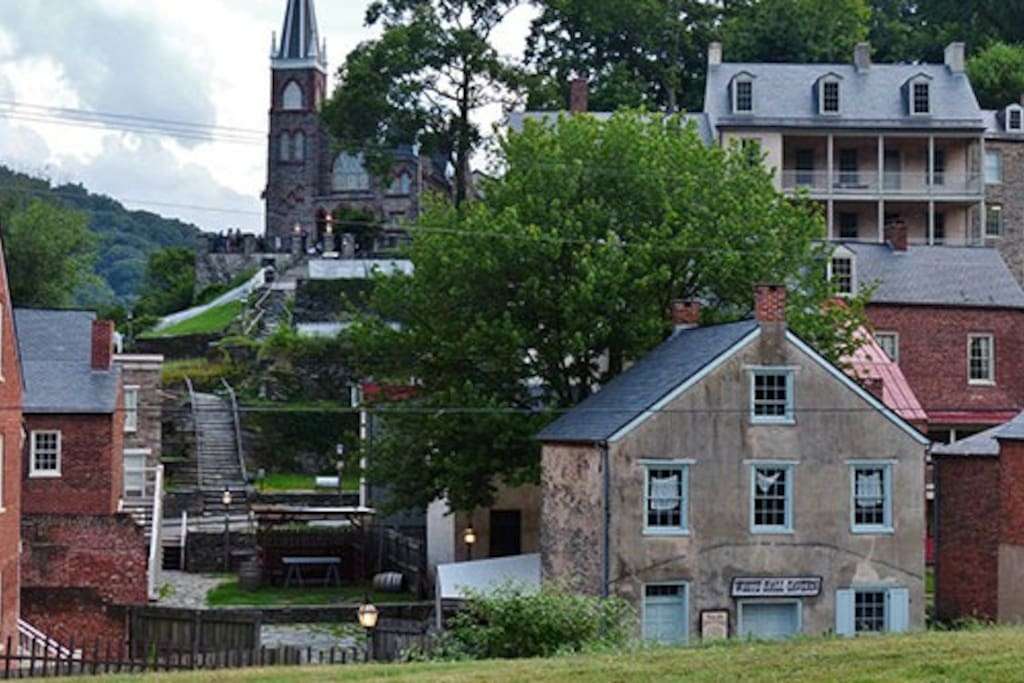 Nearby Harpers Ferry National Park