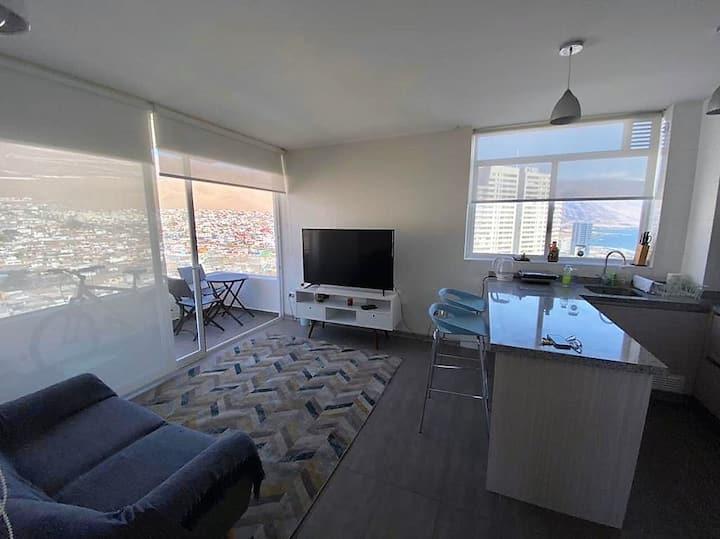 Hermoso departamento con vista a la playa
