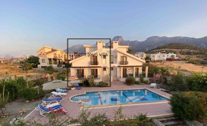 Villa Sea&Mountain views
