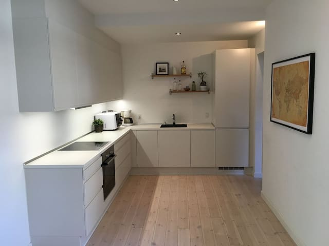 Spacious half apartment in the heart of Aarhus