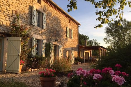 Le Batut Farmhouse, S. W. France. - Noailles