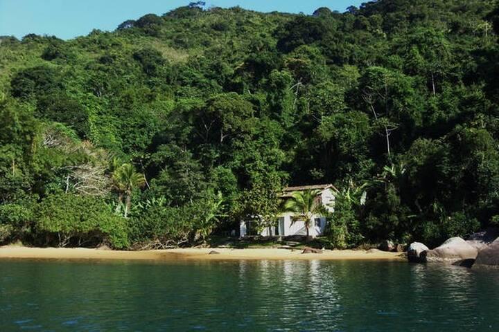Sossego no Saco do Mamanguá em Paraty - Paraty - House