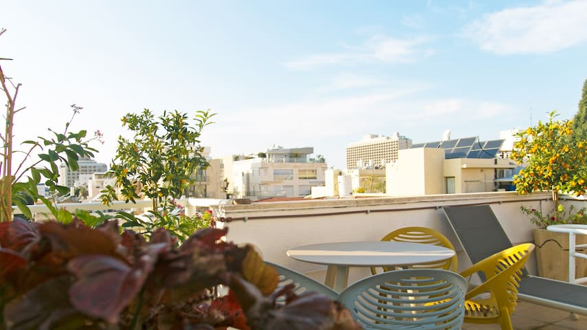 Sunny Duplex at the heart of TLV