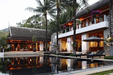 THVGPH410 Ocean Front 6 Bedroomed Villa - Kammala - Villa