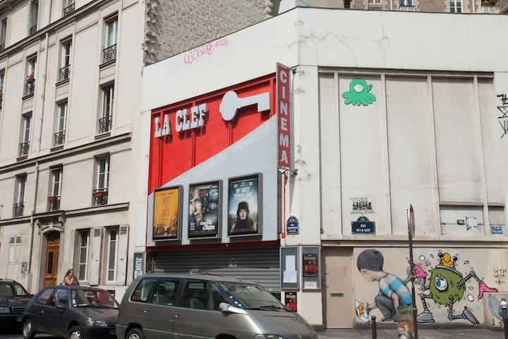 Un lit chez l'habitante - Parijs - Appartement
