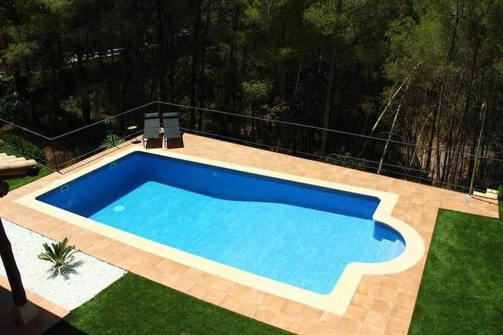 Casa en naturaleza en Olivella a 15min. de Sitges