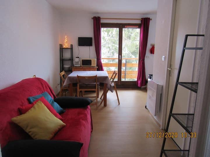Appartement avec vue panoramique sur le Mont Blanc
