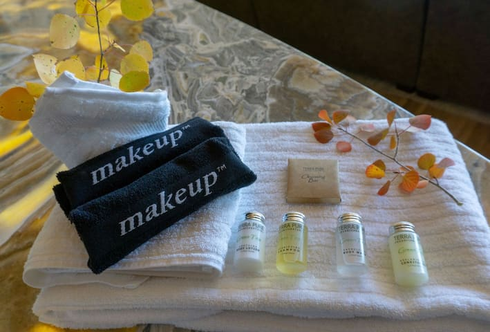 All Winter Park Escapes rentals are stocked with organic hotel quality amenities