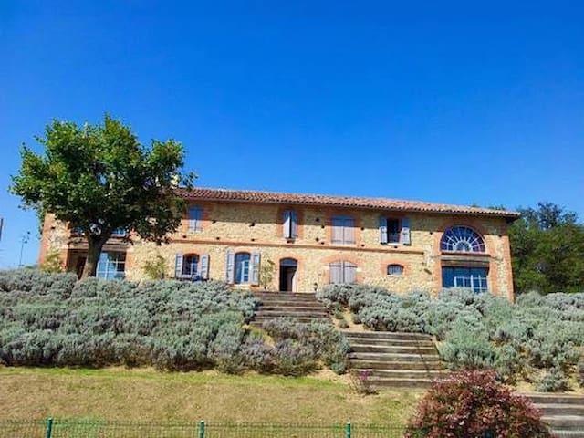 Grande maison de caractère au calme - Lézat-sur-Lèze - Huis