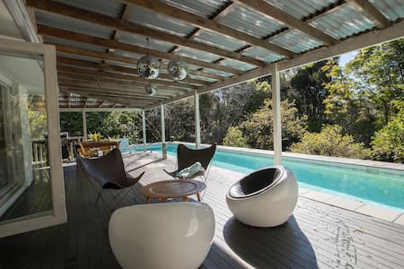 Cooinda, a secluded Byron Bay Hinterland retreat.