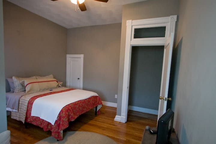 Bedroom 2 Features QUEEN Bed, closet and DVD/TV and MOVIE COLLECTION for every age!