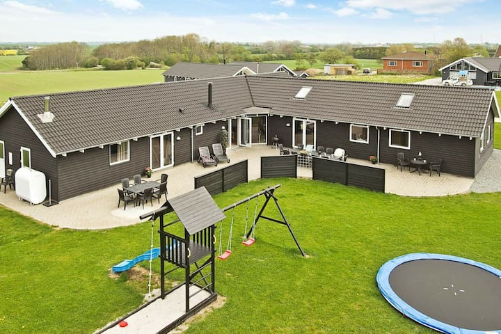 Lovely Holiday Home in Sydals Jutland with Indoor Pool