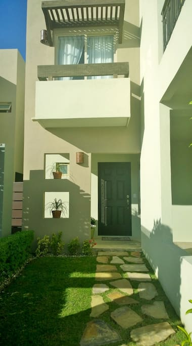 Front entrance of home