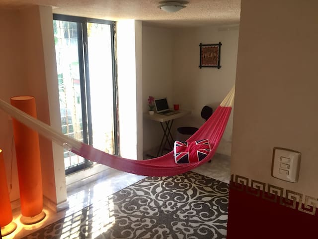 Private hammock at your room with view, first floor
