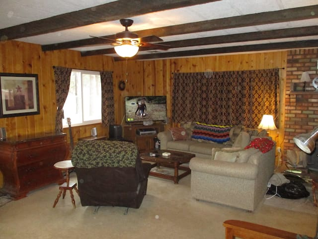 Comfortable and Spacious Ranch-style home.