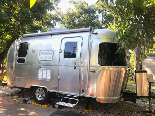 Airstream Sanctuary W/ gym and steam room