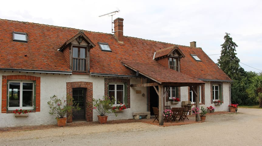 "Bed and Breakfast in a farm ""La Rouzannerie"""