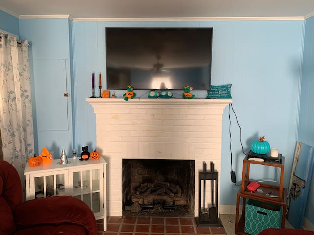 Living area with Directv