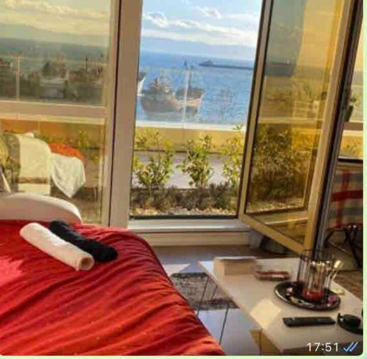 Luxury residence in coastal area