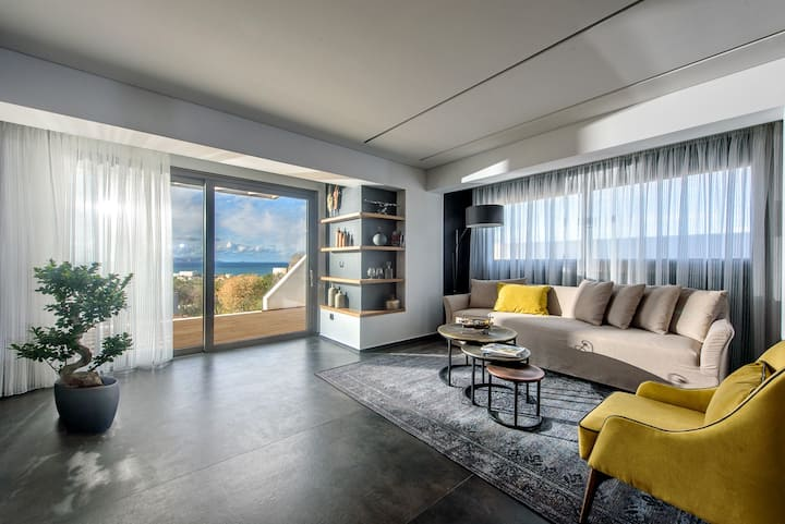 Joy SeaView Villa w pool |Onira Suite Dreams Crete