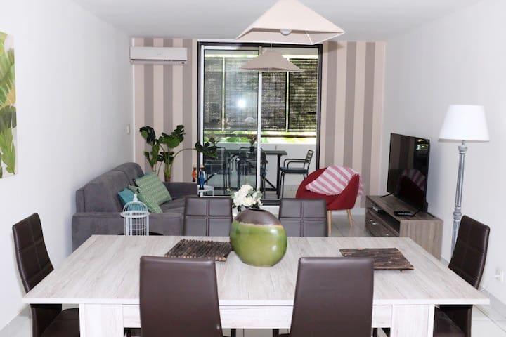 Appartement chic à la plage