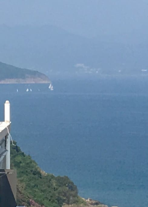 View towards Sai Kung from the living room