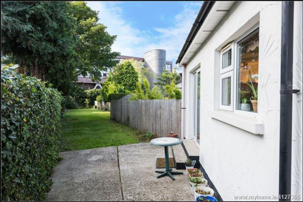 Back yard and lengthy garden