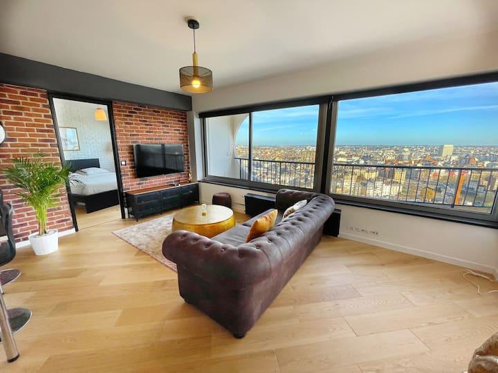 Appartement Vue panoramique sur la ville / Centre