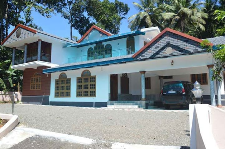 Modern Velkat Bungalow with AC in Village Setting