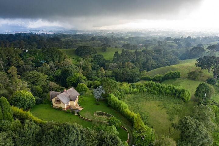 Amazing view of San Jose - Casa los Cielos