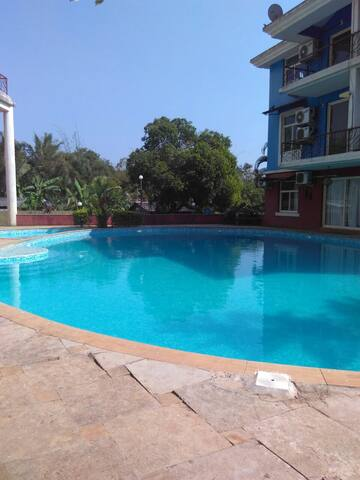 Emerald Isle apartment near Anjuna - Verla Canca