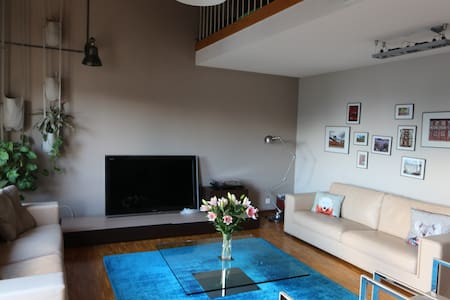 Spacious family apartment - Epalinges