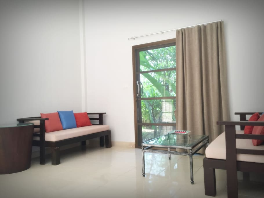Shared Living Room with garden view