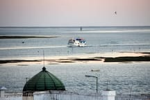 Ferry to the islands of Armona& Culatra