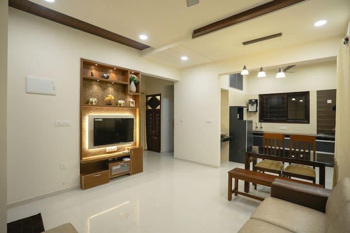 Kshitij Service Apartment in Kottara, Mangalore