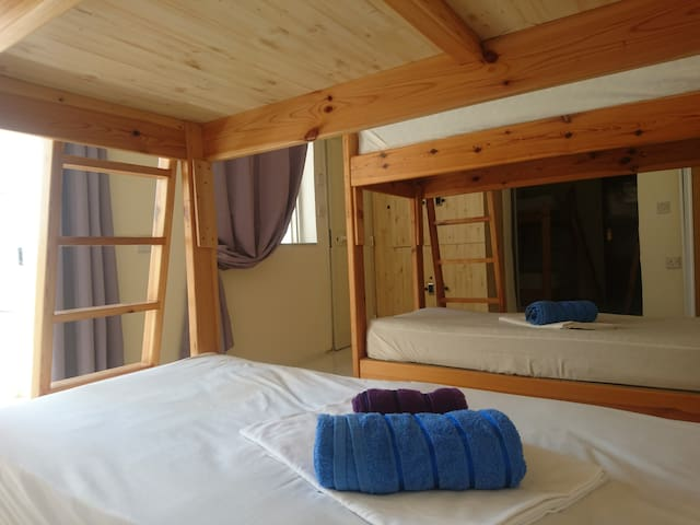 Bed in female dorm
