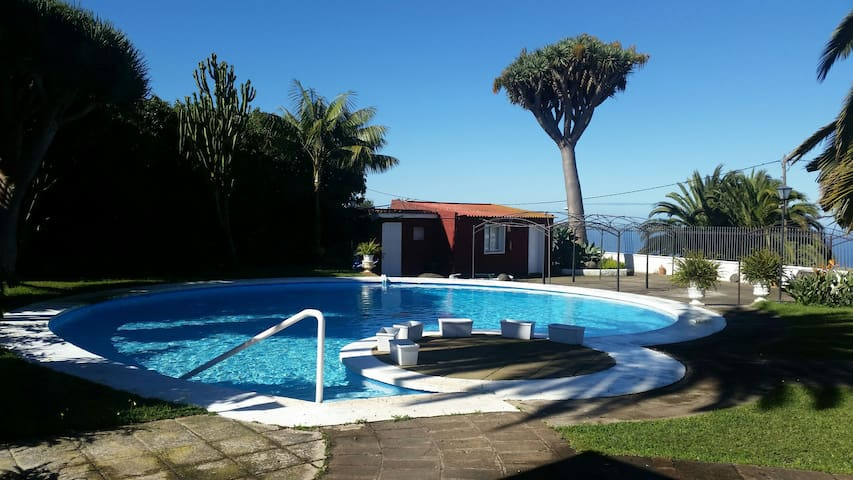 House with swimming pool and garden to relax - San Cristóbal de La Laguna - Hus