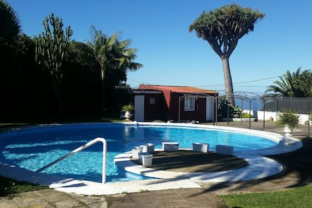 House with swimming pool and garden to relax - San Cristóbal de La Laguna - Dom