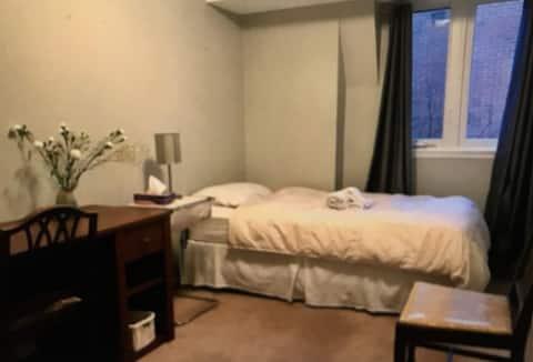 Cozy Bedroom in Toronto's Old Town