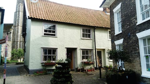 The Old Bakery, a 17th century house.