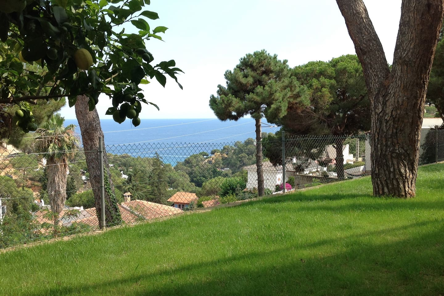 Garden, sea-view (from all rooms)