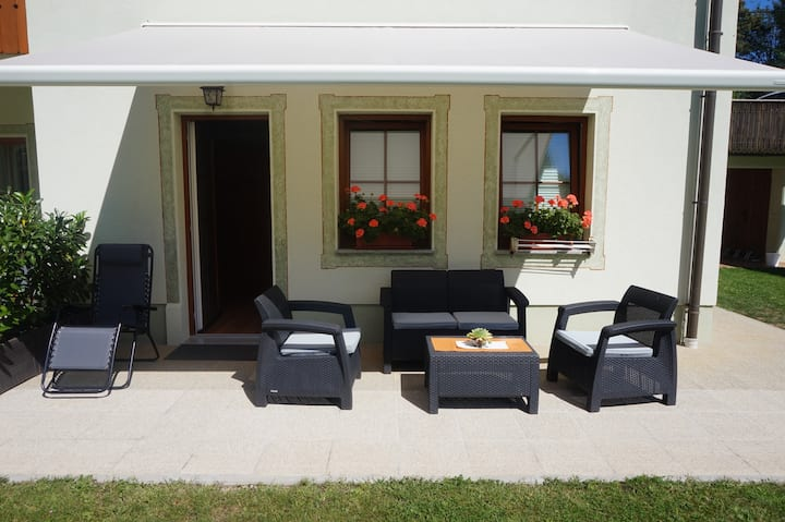 ☆Family Room with private Terrace in Pension Kaps☆