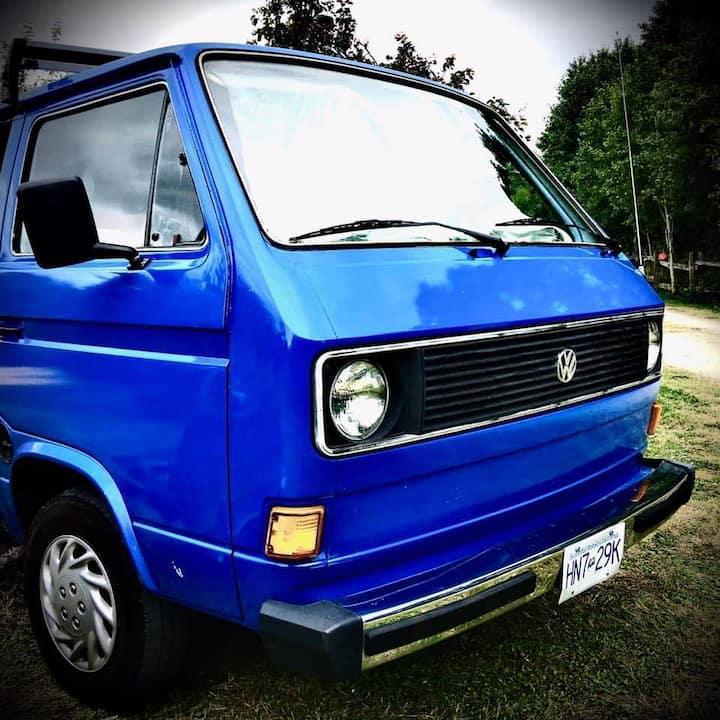 Jellybean, the Volkswagen Campervan