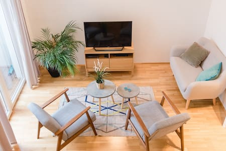 Beautiful apartment with gallery - Wenen - Appartement