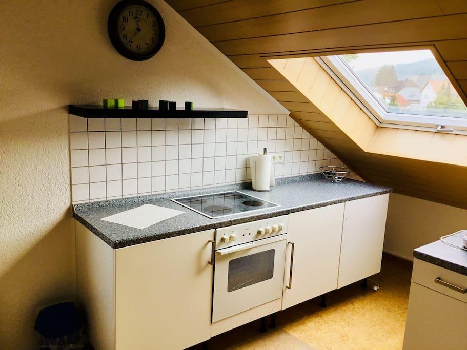 Die Küche fürˋs Frühstück und mehr