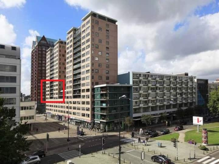 90m2 apartment in the center of Rotterdam