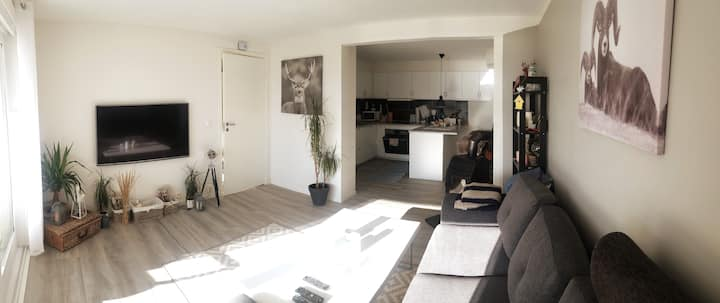 A beautiful apartment close to the city!