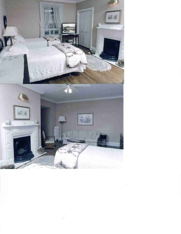 Luxury rm. Private bathroom Internet TV Queen Bed. - Fredericton - Huis