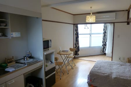 Apartment near Kamogawa river (bed) - 京都市 - Byt